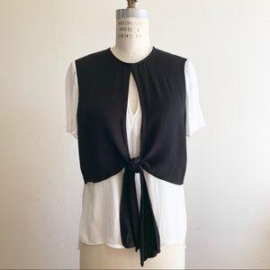 Zara - Two Layers Blouse